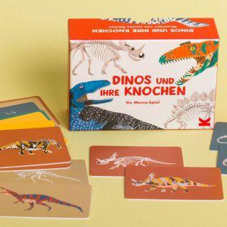 Dinos und ihre Knochen- Ein Memo-Spiel