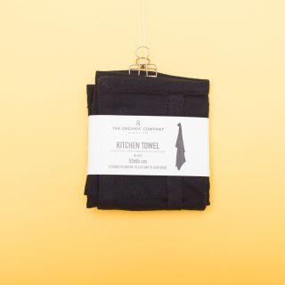 The Organic Company Kitchen Towel Black