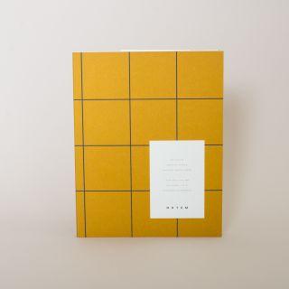 Notem UMA Notebook, Medium - Ochre