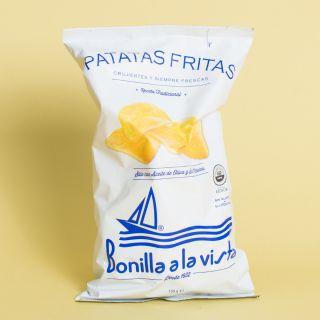Bonilla a la Vista Patatas Fritas con 100% Aceite de Oliva