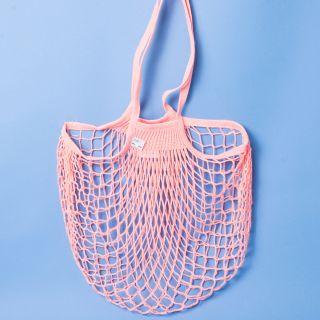 Filt Net Shopping Bag Rose