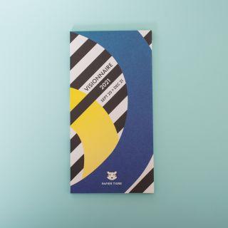 Papier Tigre Le Visionnaire Folding Loop Calendar 2020-2021
