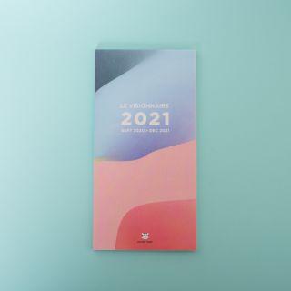Papier Tigre Le Visionnaire Folding Calendar 2020-2021
