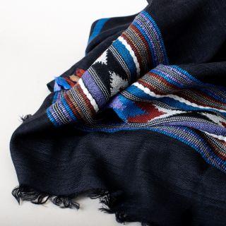 Himalayan Wool Scarf Black