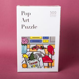 W&P Pop Art 500 Piece Puzzle