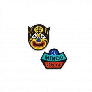 Macon & Lesquoy El Minou Féroce Badge