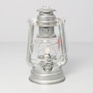 Petromax Feuerhand Sturmlaterne Silber