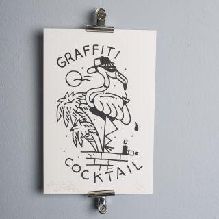 FUZI Graffiti Cocktail Silkprint