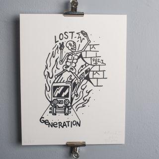FUZI Lost Generation Silkprint