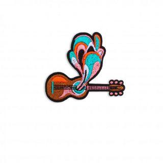 Macon & Lesquoy Power Guitar Badge
