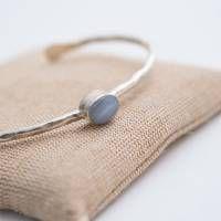 A Beautiful Story Moonlight Blue Silver Bracelet