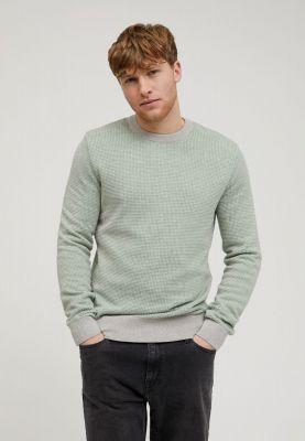 Armed Angels Laavo Sweater Grey Melange - Misty Grass