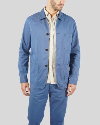 Portuguese Flannel Labura Jacket Blue