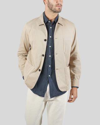Portuguese Flannel Labura Jacket Sand