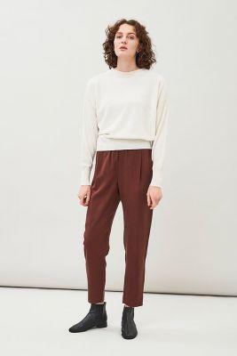 Maska Ior Short Boxy Sweater Off white