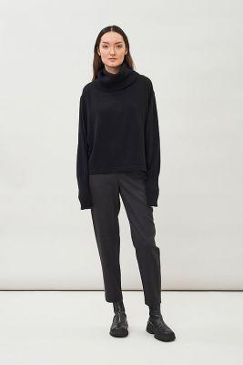 Maska Isa Shawl Collar Sweater Black