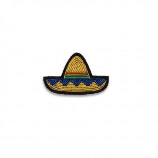 Macon & Lesquoy Mini Sombrero Gold Brooch
