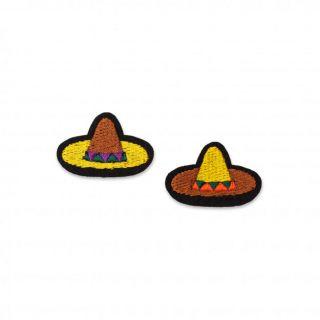 Macon & Lesquoy Mini Sombreros Badge