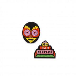 Macon & Lesquoy Miss Bad Nipples Badge