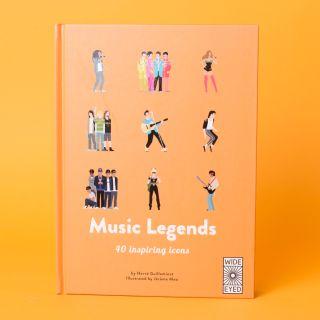 Music Legends 40 Inspiring Icons