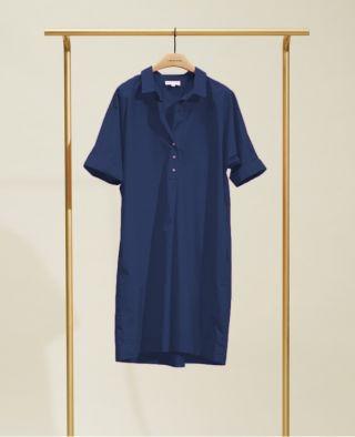 Chloé Stora Noa Dress Bleu