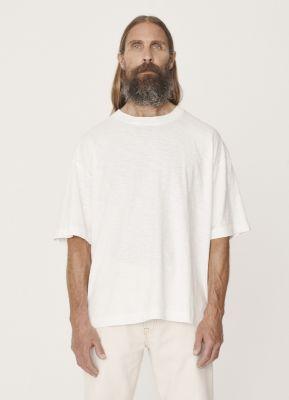 YMC Triple Cotton Slub Jersey Shirt Ecru