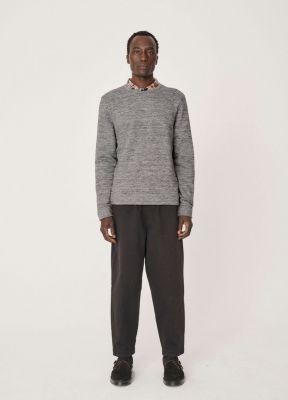 YMC X Cotton Marl Sweatshirt Grey