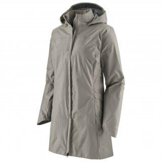 Patagonia Women's Torrentshell 3L City Coat Salt Grey