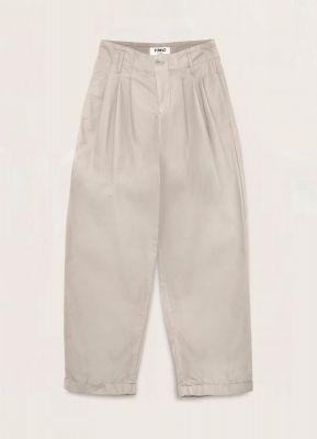 YMC Keaton Cotton Nylon Trousers Stone