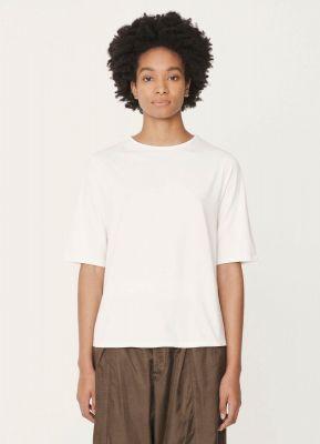 YMC Carlota Cotton Jersey Shirt Ecru