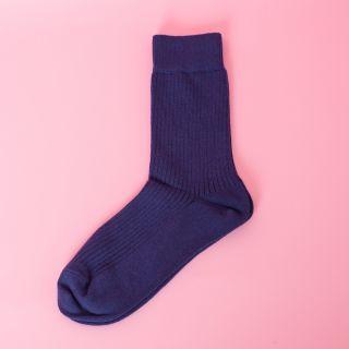 Kitchener Items Socks Ribbed Blue