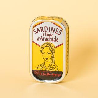 La Belle-Iloise Sardines à l'huile d'arachide