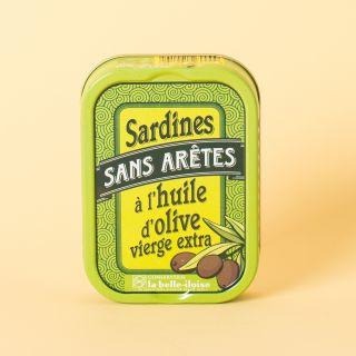 La Belle-Iloise Sardines sans arêtes à l'huile d'olive