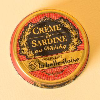 La Belle-Iloise Crème de sardine au whisky