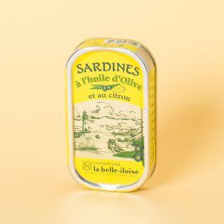 La Belle-Iloise Sardines à l'huile d'olive et au citron