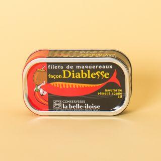 La Belle-Iloise Filets de maquereaux façon Diablesse