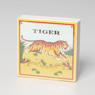 Archivist Gallery Luxury Matches Tiger