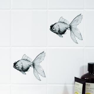 "Boubouki Self-Adhesive Tile Stickers ""Cleo Opaque"""