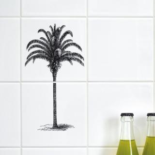 "Boubouki Self-Adhesive Tile Stickers ""Coco Transparent"""