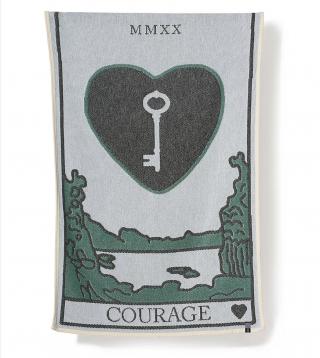 ZigZag Zürich Courage Beach Towel / Mini Blanket - by Sophie Probst & Michele Rondelli