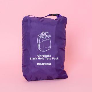 Patagonia Ultralight Black Hole® Tote Pack Purple 27l