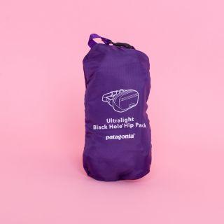 Ultralight Black Hole® Mini Hip Pack Purple 1L