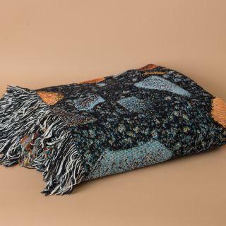 Schoenstaub Blanket Terrazzo Multicolor Black