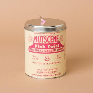 Nutscene Gardeners Tin o' Twine 150m Pink Twist
