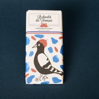 Le Chocolat Des Francais Organic Tender Milk 41%