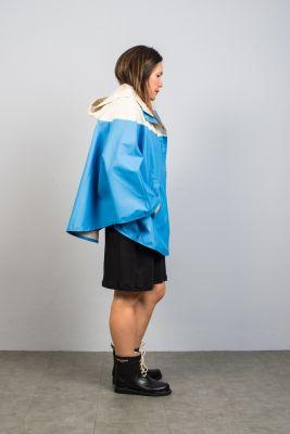 Ilse Jacobsen Rain Poncho Blue