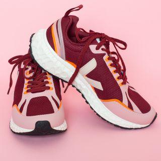 VEJA Condor Mesh Grenat Dahlia Sneakers Womens