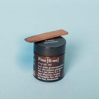 Fine Vetiver Geranium Deodorant Cream 30g