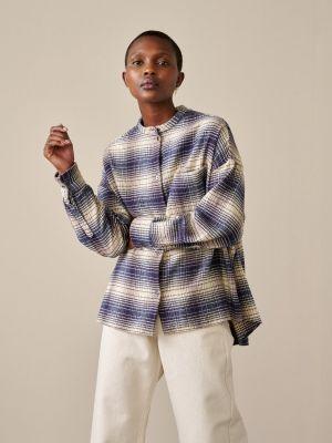 Bellerose Gorky Shirt Check A Blue
