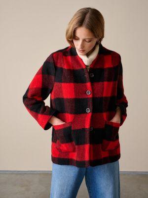 Bellerose Voyou Jacket Check A Red